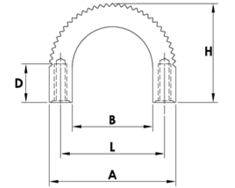 ALUMINUM EXTRUSION HANDLES-B5-001