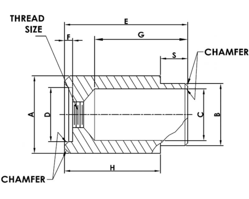 PANEL SCREW RETAINER STYLE 4 Metric Standard
