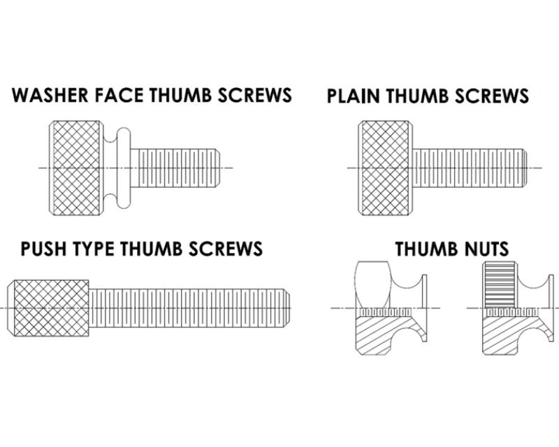 THUMB SCREWS & THUMB NUTS