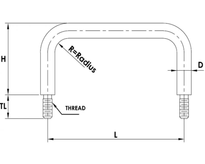 ROUND EXTERNAL THREAD HANDLES EXTERNAL THREAD